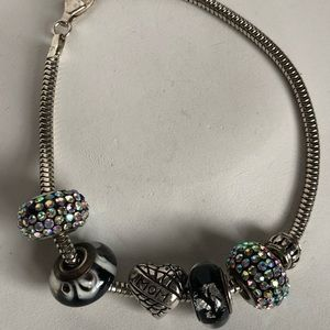 Sterling Mom bracelet.925